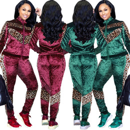 27b09711e8 Women designer jacket legging outfits 2 piece set tracksuit outerwear  tights sport suit long sleeve cardigan pants tracksuit hot klw0190