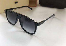 $enCountryForm.capitalKeyWord NZ - Men Square Attitude Evidence Mascot Sunglasses Black Grey Gradient Lenes Designer sunglasses Brand New in Box