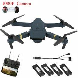 Ingrosso Drone X Pro Selfie pieghevole Quadcopter 1080P HD Camera FPV Wifi + 4 batterie