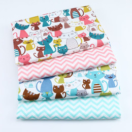 Discount diy fabric animals - By Meter Animal Print Fabric New Kids 100% Cotton Twill Fabric for DIY Sewing Quilting Sheet Material For Baby&Child
