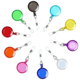 RetRactable key caRd clip online shopping - Clip on Retractable Badge Reel with Belt Clip for ID Cards Badge Key Keychain Holders Keep ID Key Cell phone Safe