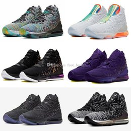 kid shoes stores NZ - Hot Lebron 17 Mr. Swackhammer I Promise sneaker Kids outdoor basketball shoes good 17 basketball shoes wholesale store