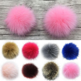 $enCountryForm.capitalKeyWord Australia - New 14cm Soft Faux Fur DIY Car Handbag Key chain PomPom Fluffy Ball Pendant Keychain Valentine Gifts Alibaba Express