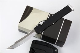 Tool sTeel cnc online shopping - Camping Gear V Tanto quot Satin Plain CNC D2 steel anodized aluminum handle Outdoor EDC Tool Tactical Hunting Gift Knives P680F R