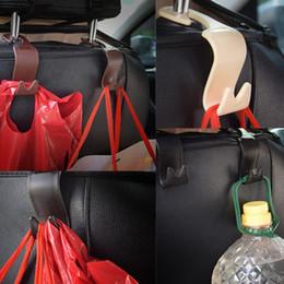 Discount hid design - New 4pcs set Universal Car Storage Hooks Car Seat Back Hook Hidden Design Hanging Hook