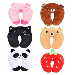 Travel Support Pillow Australia - New Hot Selling Multi-Color Cartoon U Shaped Travel Pillow Neck Support Head Rest Cushion 28cm *28cm * 10 cm