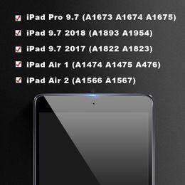 Стекло для iPad 9.7 2018 Защитник экрана 2017 4-й 5-й 6-й PEN AIR 1 2 A1893 A1954 Защитный закаленный GLAS на Распродаже