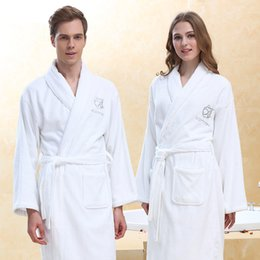 Winter Bathrobe Women Cotton Hooded Women Knee-Length Bath Robe Dressing Plus  Size XL Soft Dressing Gown Bridesmaid Robes Female 80dd4cc63