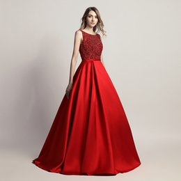 429bb27334b Luxury pLus size maxi dresses online shopping - Luxury Red Sexy Elegant A Line  Prom Dress