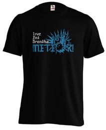 Cosplay Fantasy Shipping UK - FF15 Live Eat Breathe Meteor! Cosplay Final Fantasy Vyv FFXV T shirt Tee Funny free shipping Unisex Casual Tshirt top