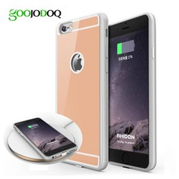 $enCountryForm.capitalKeyWord NZ - Qi Wireless Charger Receiver Case for iPhone 6 6s 6 6s plus 5 5s SE Phone Cover with Adapter Used on Wireless Charging Pad T0910