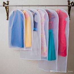 $enCountryForm.capitalKeyWord NZ - Limit 100 1Pcs Clothes Dust Cover Home Storage Bag for Garment Suit Dress Clothes Coat Pouch Case Container Organizer Storage