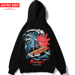 9a66c7f3f8a9 Aelfric Eden Skull Print Men Hoodies Sweatshirts 2018 Fleece Cotton Couple Skateboard  Hoodie Warm Winter Hip Hop Clothing KJ333