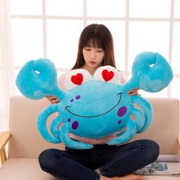 $enCountryForm.capitalKeyWord Australia - Simulation red crab plush toy large soft doll throw pillow birthday gift