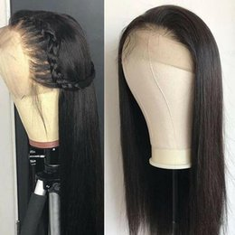 $enCountryForm.capitalKeyWord Australia - full lace Wigs Straight Pre Plucked Hairline Baby Hair 8-24 Lace Frontal Wigs wowwigs for black woman and girl
