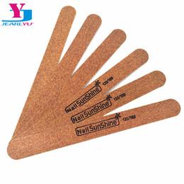 Uv Block Australia - ail Files & Buffers 5Pcs Lot Professional Nail File 180 240 Grit Buffer Block Curve Brown For Manicure UV Gel Varnish File Sandpaper ...