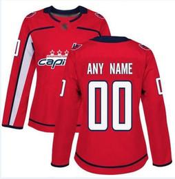 Nhl Hockey Jersey S NZ - Custom Washington Capitals nhl hockey jerseys Dustin Byfuglien Mathieu Perreault 2019 Stanley Cup Final Patch Jersey 4xl 5xl 6xl cheap shirt