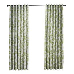 $enCountryForm.capitalKeyWord UK - New Curtain Leaves Pattern Curtain Blackout Bedroom Finished Balcony Tube Beautiful Window Decoration Home Textile