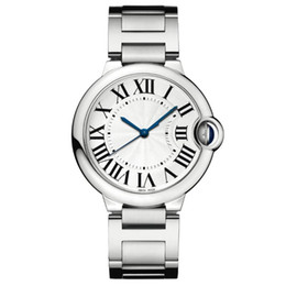 2019 Niza buen reloj nuevo Moda de plata de lujo Hombres Relojes de acero inoxidable Relojes de pulsera Relojes unisex amantes reloj whosale dropshipping en venta