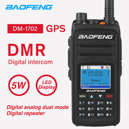 $enCountryForm.capitalKeyWord NZ - DMR DM-1702 GPS Walkie Talkie Baofeng High Power Dual Time Slot Portable Digital Analog Two Way CB Ham Radio Transceiver DM1702