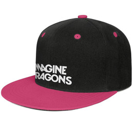 red dragon hats UK - Fitted mens and womens Trucker caps Imagine Dragons Logos Flat Brimmed Hip Hop Snapbacks hat sports Beach Hat