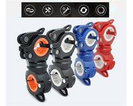 Multifunktionshalterung Fahrradpumpen Halter Licht Taschenlampe Montieren Trestle Fahrrad Lenker Extender 360 Grad Rotation