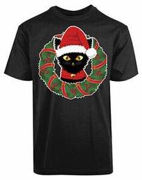 Cotton deCo online shopping - Cat Santa Cap Christmas Deco New Men s Shirt Celebration PerBrandnalized Classy Tee