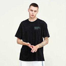 $enCountryForm.capitalKeyWord Australia - Chaobai T-shirt Male Street Hip-hop Harbin Summer Student Pure Cotton Loose Large Size Pure Cotton Male Short Sleeves