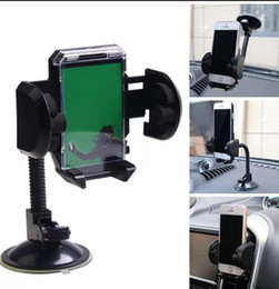Wholesale Car Windshield Mount Holder For Cell Phone Mobile GPS Universal Car Suction Cup Mount Holder Stand LJJK1146