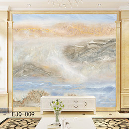 $enCountryForm.capitalKeyWord Australia - Modern Customized textured marble printed photo mural wallpaper thick non-woven wall paper moisture-proof washable household decor TV sofa