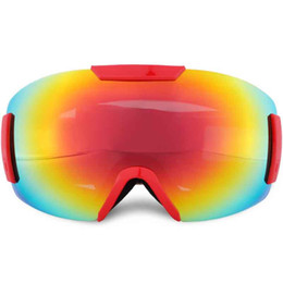 purple ski goggles UK - Professional Winter Snow Windshield Snowboard Ski Goggles Ski anti-fog Glasses Mountain Alpine Spectacles Snowboarding Sci Hot products