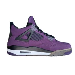 Media Player Australia - 4s travis purple player edition TOP Factory Version 4 Basketball Shoes mens trainers 2019 good suede Sneakers with Box