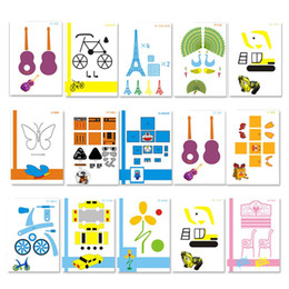 Pen Boards UK - Template Mold Special Paper Necessary Help Random 3D Pen Graffiti Board Template 15pcs Copy Board For Kid