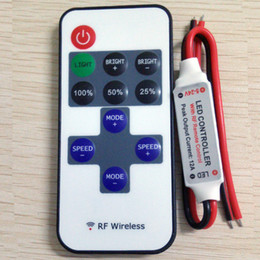 $enCountryForm.capitalKeyWord Australia - free shipping 12A 5V 24V LED RF Wireless Mini Remote Dimmer Controllers RF Wireless Remote LED Controller