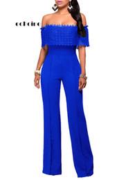 $enCountryForm.capitalKeyWord Australia - Echoine Women Jumpsuits Casual Side Zipper Slash Neck Long Sleeve Wide Leg Pants Slim Rompers Sexy Women's Outfit Streetwear Y19062201