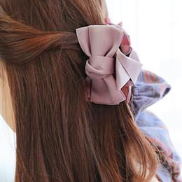 $enCountryForm.capitalKeyWord Australia - girls accessories Bow Tie Lady Headwear Claws Jaw Clips Girls Long Thick Women Headwears Cute Casual Beautiful Hair Clips Accessories