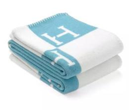 $enCountryForm.capitalKeyWord NZ - Cashmere blanket fashion summer H velvet wool Scarf shawl Home Travel Warm letter pattern knit jacquard wool blanket sofa towel tapestry