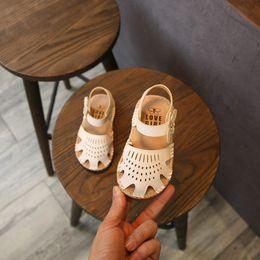 $enCountryForm.capitalKeyWord NZ - Toddler Infant Kids Baby Girls Sandals Elegant Soft Sole Hollow Flower Princess Sandals Shoes baby Kids shoes for girl
