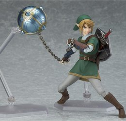 Legend Zelda Figures Australia - NEW hot 14cm The Legend of Zelda Twilight Princess Action figure toys doll Christmas gift with box