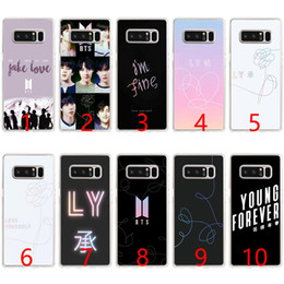 $enCountryForm.capitalKeyWord UK - BTS Yourself Fake Love Bangtan Soft Silicone Phone Case for Samsung Note 9 8 S7 Edge S8 S9 Plus Cover