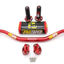 """Опт Handlebar PRO конический пакет Fat Bar 1-1 / 8"""" Dirt Pit Bike Motocross Мотоцикл Handlebar 810mm длина 28.5mm PRO алюминий"""