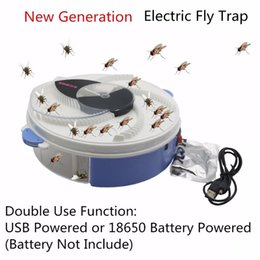 bait traps NZ - Usb Type With Bait Control Electric Anti Fly Killer Trap Pest Catcher Bug Insect Repellents Vliegenvan C19041901