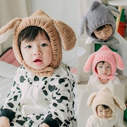 Knitted ornaments online shopping - Cute Hat Hospital Cap Comfy Toddler Kids Baby Girls Infant Winter Warm Earflap Crochet Knit Hat Beanie Cap Christmas