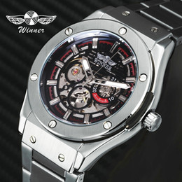 $enCountryForm.capitalKeyWord Australia - Brand Luxury Winner Automatic Man Watch Mechanical Men Sports Watches Skeleton Stainless Steel Strap Casual Business Clock 2019 J190706