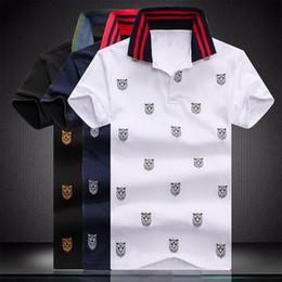 Опт Роскошная дизайнерская мода классическая мужская футболка с принтом