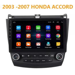 Venta al por mayor de 10.1 pulgadas Pure Android 8.1 Car DVD Quad Core 16G ROM 1024 * 600 Pantalla Car Raio para Honda Accord 2003-2007 WIFI MIRROR LINK bluetooth