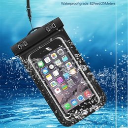 $enCountryForm.capitalKeyWord Australia - Dry Bag Waterproof bag PVC Protective Mobile Phone Bag Pouch With Compass Bags For Diving Swimming Sports For iphone 6 6 plus S7 NOTE 7