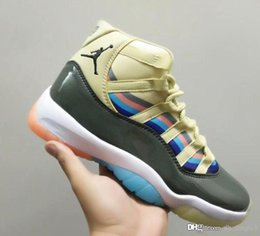 $enCountryForm.capitalKeyWord NZ - Cair 1 JORDAN 1 11 11S XI Men basketball Shoes Black Yellow Sneakers Sports Retro Trainers Running Shoes For 3D Dazzle Design Size 40-46 air