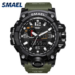 $enCountryForm.capitalKeyWord Australia - Smael Sport Watches For Men Waterproof Digital Watch Led Men's Wristwatch Clock Man 1545 Montre Homme Big Men Watches Military MX190806