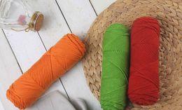 Wholesale 131yards 100m 100% COTTON Knitting Woolen Yarn Thread DIY Handmade Knitted Thread for Child Baby Knitting for ADDI CLOVER PRYM